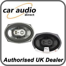 """FLI Audio Integrator 69 6x9"""" 375W 3-Way Coaxial Car Stereo Speakers Door Shelf"""