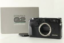 N.MINT++ in BOX】Contax G2 Black Rangefinder 35mm Film Camera ETC from JAPAN #E45