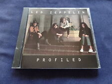 Led Zeppelin - Profiled 1990 Promotional CD Atlantic 3629-2 LN Condition