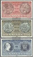 Dänemark 712-714 (kompl.Ausg.) postfrisch 1980 Königliche Münzensammlung