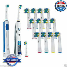12 PCS Electric Tooth brush Head Replacement Fits Braun Oral B FLOSS ACTION EB25