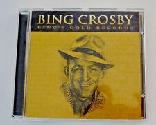 "Bing Crosby "" Bing's Gold Records"" CD"