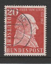 W Germany 1957 Baron vom Stein SG 1196 FU