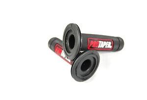 MX Grips Dirt Bike ATV RED Dual Density Full Diamond H GR05