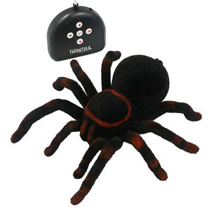 "DJL Fun Realistic Giant 8"" RC Tarantula 4-Way Spider Remote Control Toy"