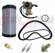 EZGO TXT ST350 Gas Golf Cart Tune Up Kit 96-up Carburetor Drive Starter Belt