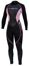 NEW AquaLung Hydroflex 1mm Wetsuit Women's Pink Size 6