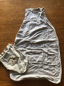 Merino Kids Sleep Bag Merino Wool Lined Baby Size 0-24 Mths Sleep Sack