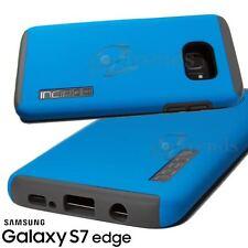 INCIPIO DualPRO Drop Protection Cover Case for Samsung Galaxy S7 EDGE Blue Gray