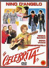 Dvd **CELEBRITÀ** di Nini Grassia con Nino D'angelo nuovo 1981