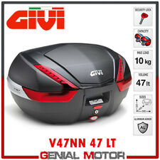 Top Case + Fixing Kit Givi V47NN 47 Lt Suzuki Dl 650 V Strom 2017 > 2019