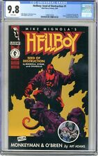 Hellboy: Seed of Destruction   #1  CGC  9.8  NMMT  White pgs  3/94 1st Hellboy i