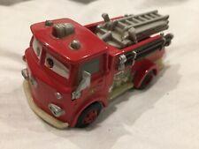 Disney Pixar Cars RED FIRE TRUCK ENGINE DELUXE 1:55 MATTEL Diecast TOKYO DRIFT a