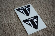 Triumph Triangle Motorcycles Yamaha Motorbike Bike Racing Decals Stickers 100mm