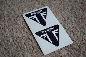 Triumph Triangle Motorcycles Yamaha Motorbike Bike Racing Decals Stickers 50mm