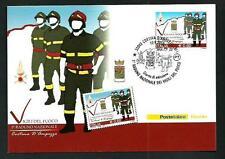 Vigigi del Fuoco / Pompieri - Cartolina Filatelica Ufficiale Poste Italiane 2010