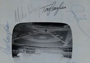 SIGNED  BILLY & TONY CONIGLIARO PROGRAM SCORECARD 1970 YANKEES BOSTON RED SOX