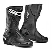 NEU SIDI Motorradstiefel Performer schwarz Gr. 46 Racing Motorrad Stiefel NEW