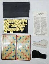 VINTAGE Travel/Pocket Editio Scrabble Crossword Game  #27 Circa 1978