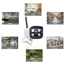Outdoor 720P Wireless WIFI IP Camera Video Network ONVIF Night Vision Security