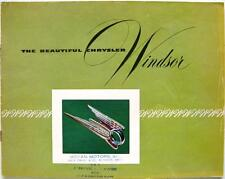 CHRYSLER Windsor - Car Sales Brochure - 1951 - #CS-272