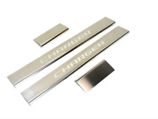 11-18 Dodge Charger New Sill Guards Set of 4 Stainless Steel Mopar Factory OEM