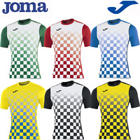 JOMA FOOTBALL SHIRT KIT TEAM TOP KIDS CHILDRENS BOYS MENS SOCCER JERSEY - FLAG