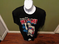 "Two In The Shirt Men's ""Greetings From Miami"" Graphic Logo T SHIRT SIZE ADULT 2X"