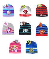 Boys & Girls Comic Superhero Licensed Beanie Winter Hat