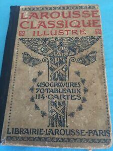 Dictionnaire Larousse classique illustré 1926
