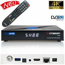 Octagon SX88 4k UHD SAT-Receiver PVR CA HEVC Multistream Sat DVB-S2 Receiver