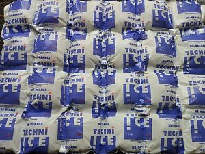 Techni Ice v.3 Reusable Ice Packs Original 4 layer/ply Model.  12 Sheet Special