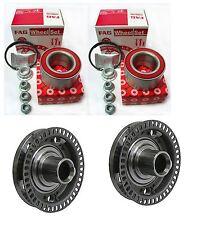 2-Front Wheel Hub & 2-OEM FAG Brand Bearing kit  for Beetle Golf Jetta