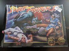 Street Fighter 2 II 30th Anniversary SNES Limited Edition iam8bit RED CARTRIDGE