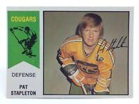 1974-75 Pat Stapleton #35 Chicago Cougars O Pee Chee Wha Ice Hockey Card H363