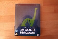 The Good Dinosaur STEELBOOK Bluray 3D  UK Edition New and Sealed