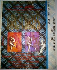 GUNS N ROSES  Concert Ticket/Biglietto Concerto - Maine Road MANCHESTER 1992