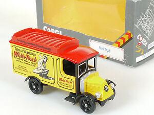 Corgi C906/3 Mack Truck White Rock Mineral Water Diecast Boxed 1410-11-77