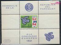 Paraguay Block15 postfrisch 1961 Europa (7188905