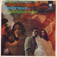 "12"" Vinyl LP Ike & Tina Turner River Deep Mountain High Ariola A&M 85 270 ZT"