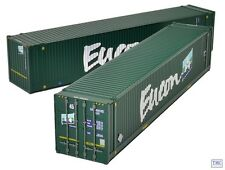 36-101 Bachmann OO Gauge 45ft Containers Eucon x2