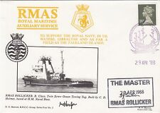 4RNCC3 RMAS Rollicker To Support the Royal Navy in UK Waters Signed Captain.