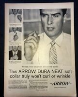 Life Magazine Ad ARROW DURA-NEAT SHIRTS 1958 Ad