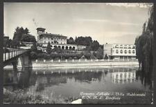 cartolina CASSANO D'ADDA villa gabbioneta e.n.a.l. linificio