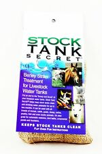 Stock Tank Secret Treatment for Water Barley Straw Clean Horse End Scrub Dairy