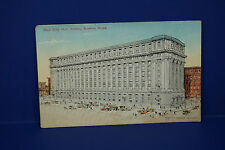 Vintage New City Hall Annex, Boston Massachusetts, Color Post Card, Pc3