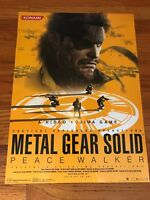 Metal Gear Solid: Peace Walker Official Promo Store Poster 2010 Sony PSP KOR