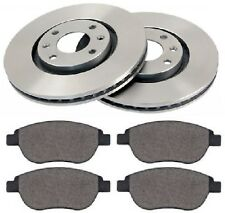 Peugeot 207 SW WK_ 1.6 HDi 283mm Front Brake Discs and Pads Set 2007-2012 Estate