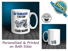Yamaha FJR1300 Motorbike Personalised Ceramic Mug Gift (MB026)