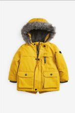 New boys Yelow Parka Jacket From Next
